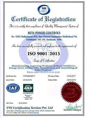 beta-power-iso-9001-2015